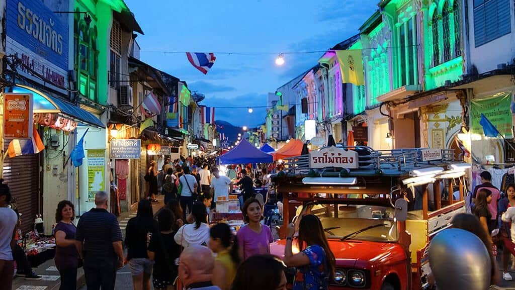 Phuket Old Town Festival takes place in the weekend after Chinese New Year. Thailand Event Guide