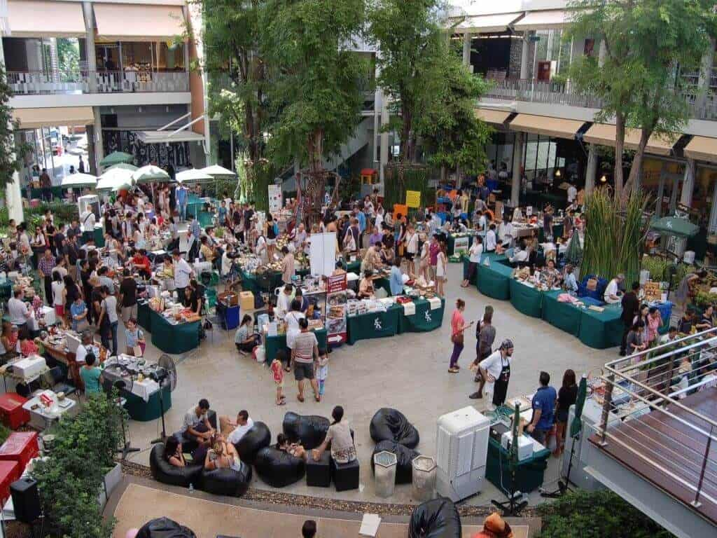 Bangkok Farmers Market brings consumers and farmers together. Thailand Event Guide
