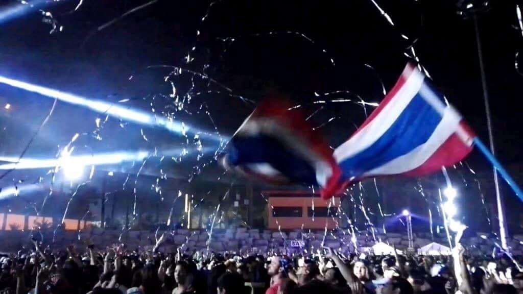 808 Festival entertains massive crowds. Thailand Event Guide