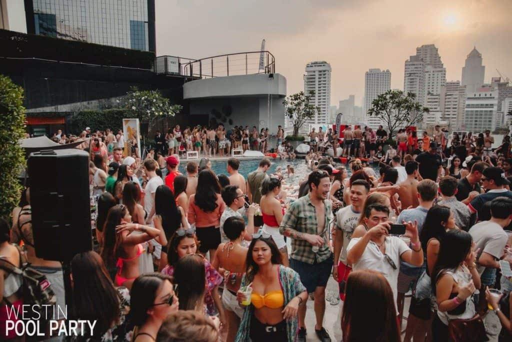 Westin Pool Party at Westin Grande Sukhumvit in Bangkok. Thailand Event Guide