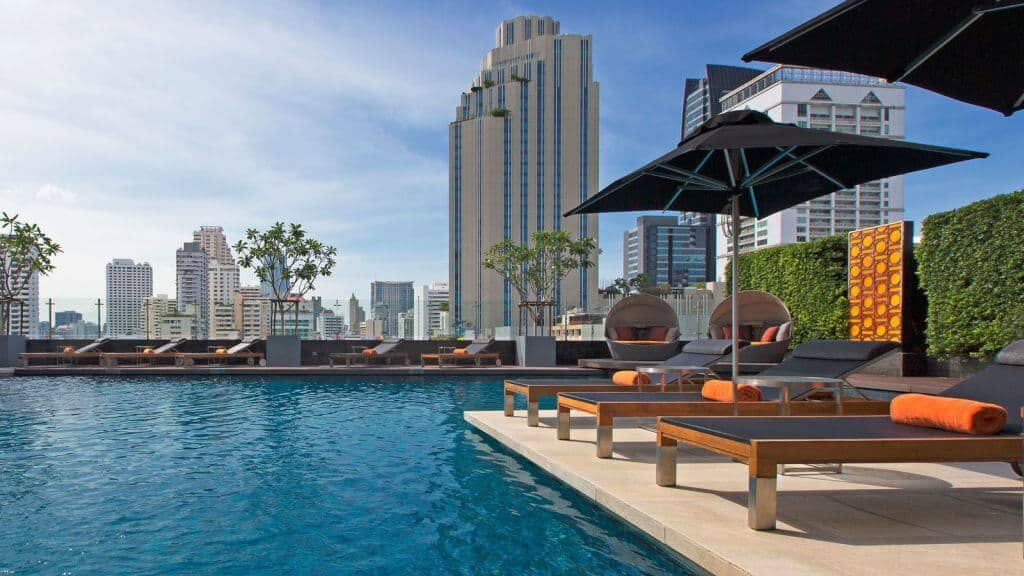 Swimmingpool at the Westin Grande Sukhumvit Bangkok. Thailand Event Guide