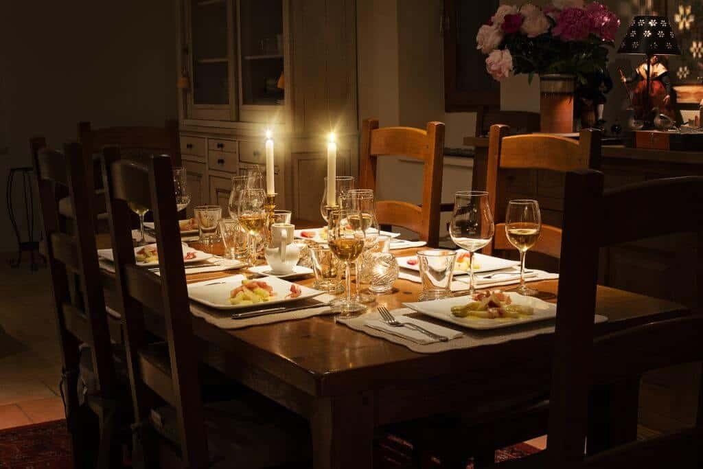 French Valentine Dinner under Thai Stars. Thailand Event Guide