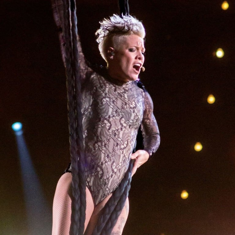 Pink is the 2656th star granted on the Hollywood Walk of Fame