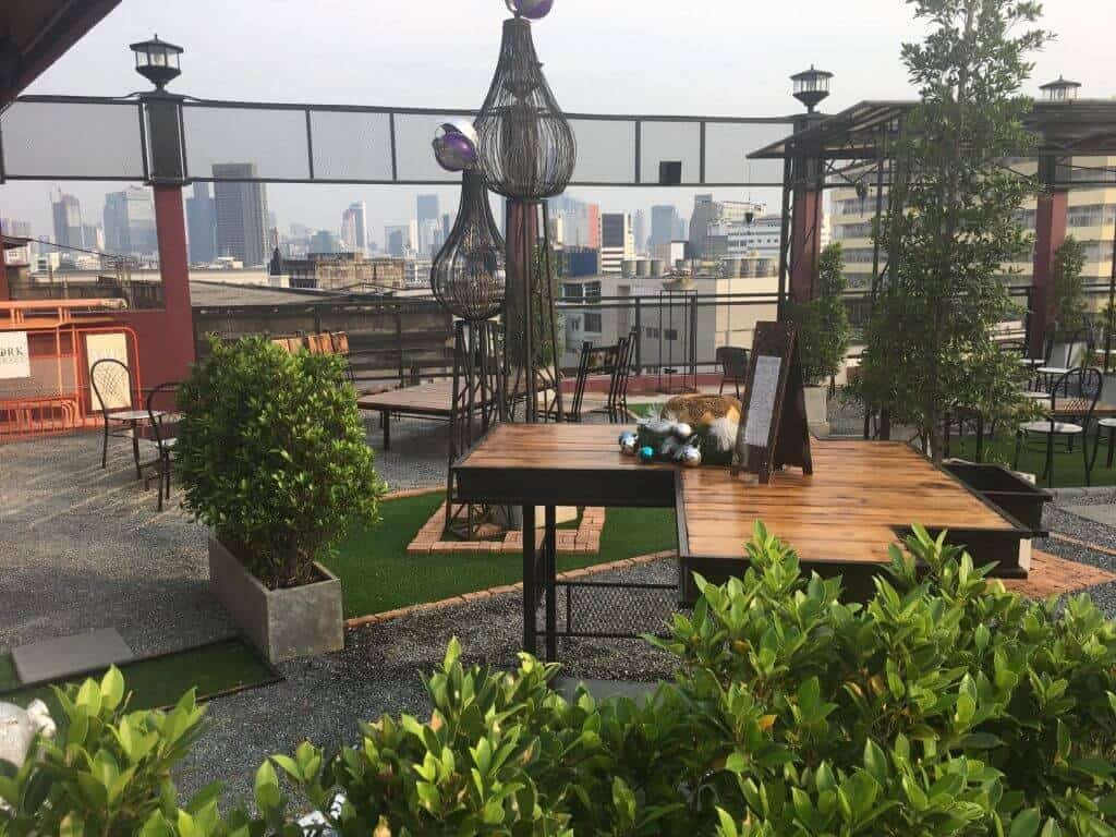 A picture from the Roof at W22 Hotel. Thailand Event Guide