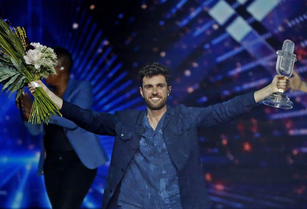 Duncan Laurence from the Netherlands wins Eurovision 2019. Thailand Event Guide
