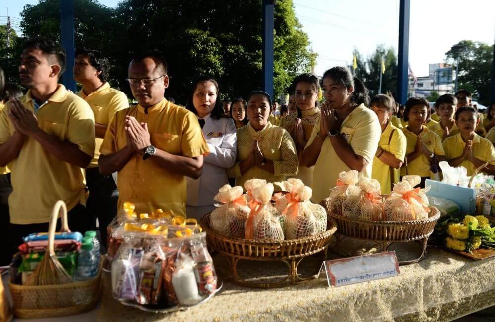 Thai King Happy Birthday. Thailand Event Guide