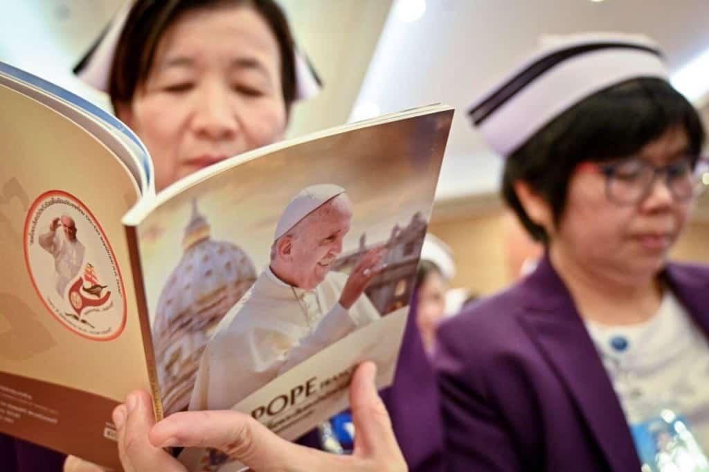 Pope Francis visits Thailand and Bangkok in November this year.