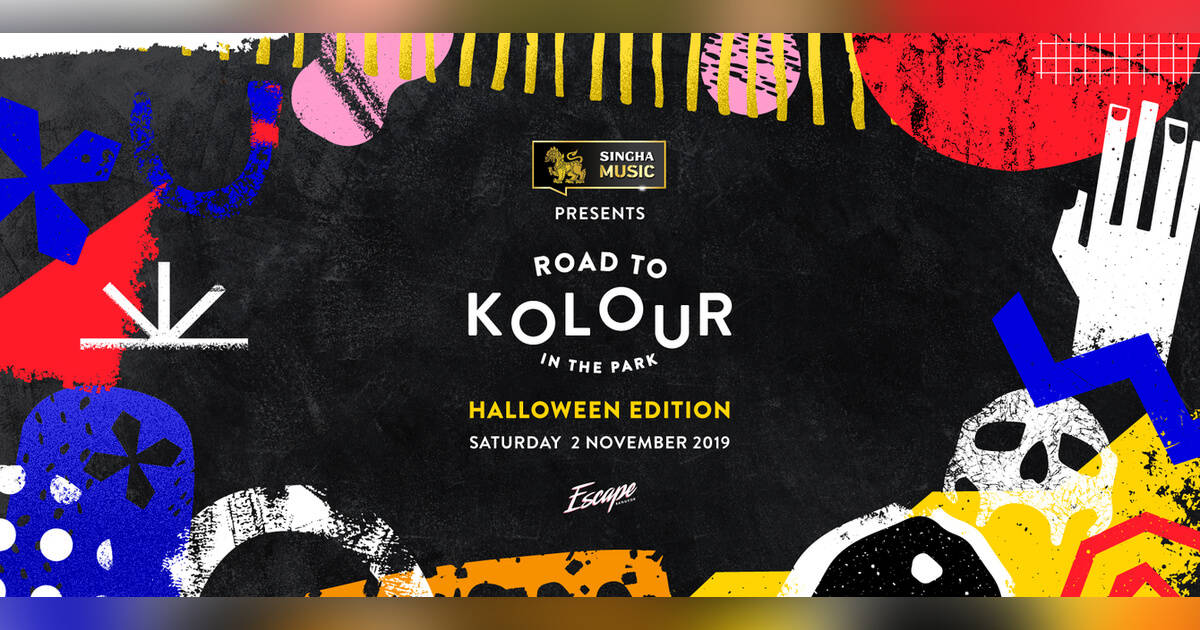 Road to Kolour Halloween Pre-Party at Escape Bangkok. Thailand Event Guide