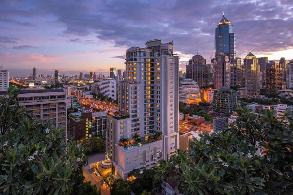 DoubleTree by Hilton is one of the new high Bangkok hotels overviewing Bangkok, Thailand Event Guide