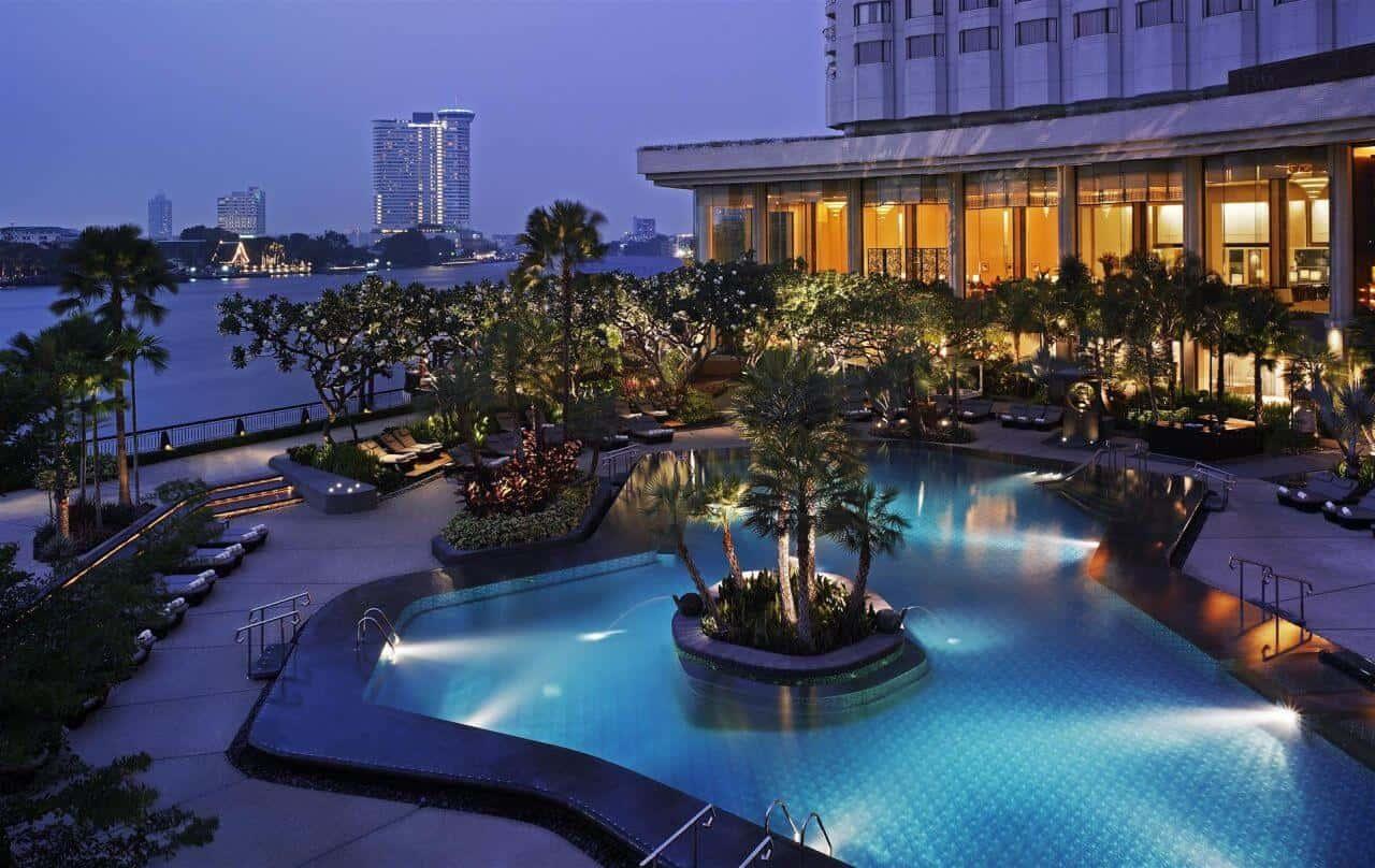 Best Bangkok Riverside Hotels - Shangri-La Hotel Bangkok. Thailand Event Guide