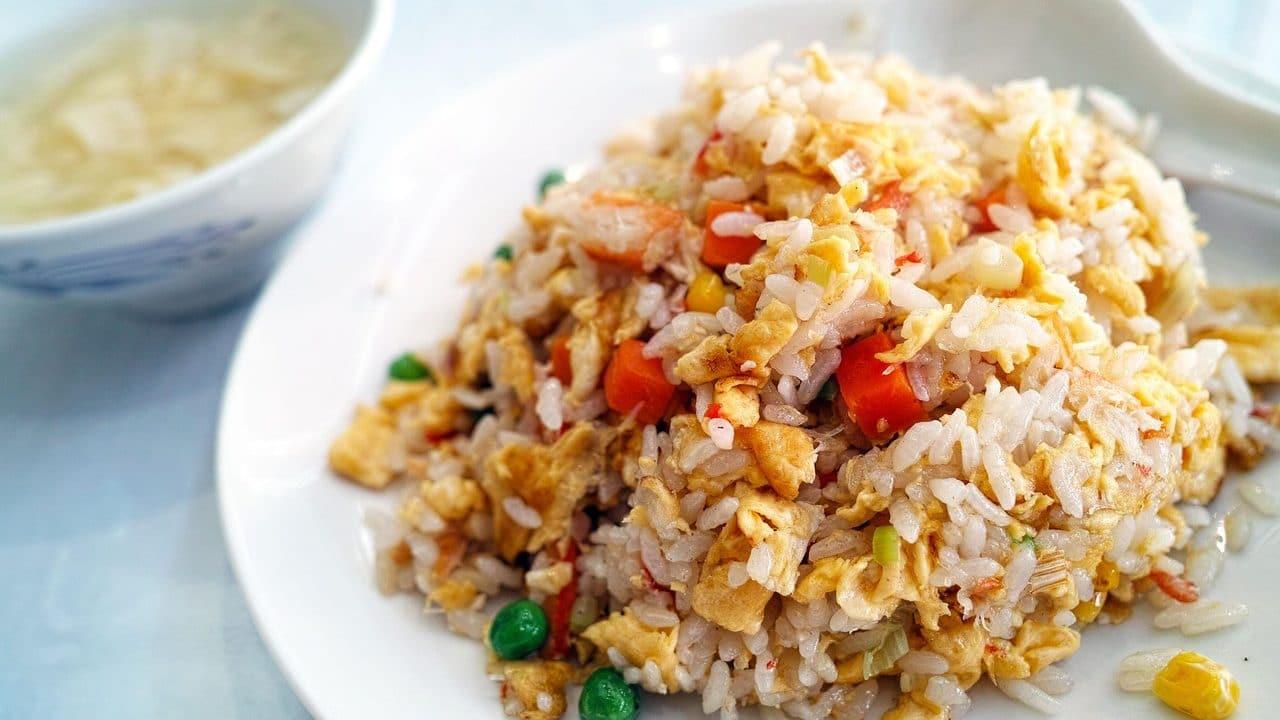Thai Fried Rice Dish