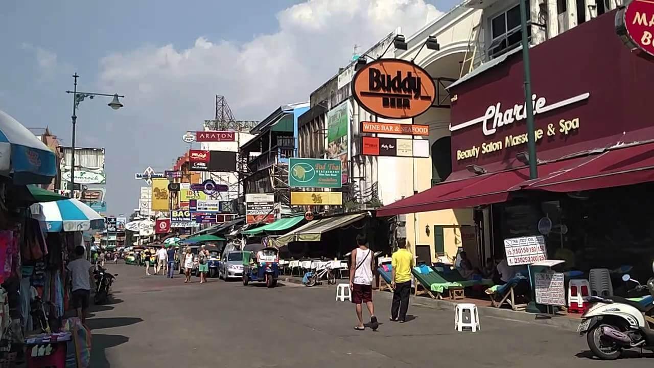 Bangkok Attractions - Khao San Road