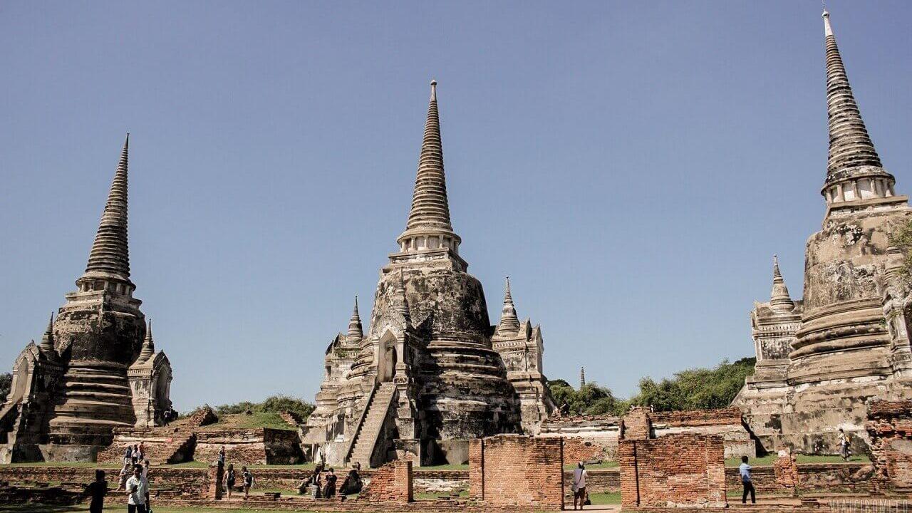 Thai Travel Advice: Wat Phra Si Sanphet Ayutthaya