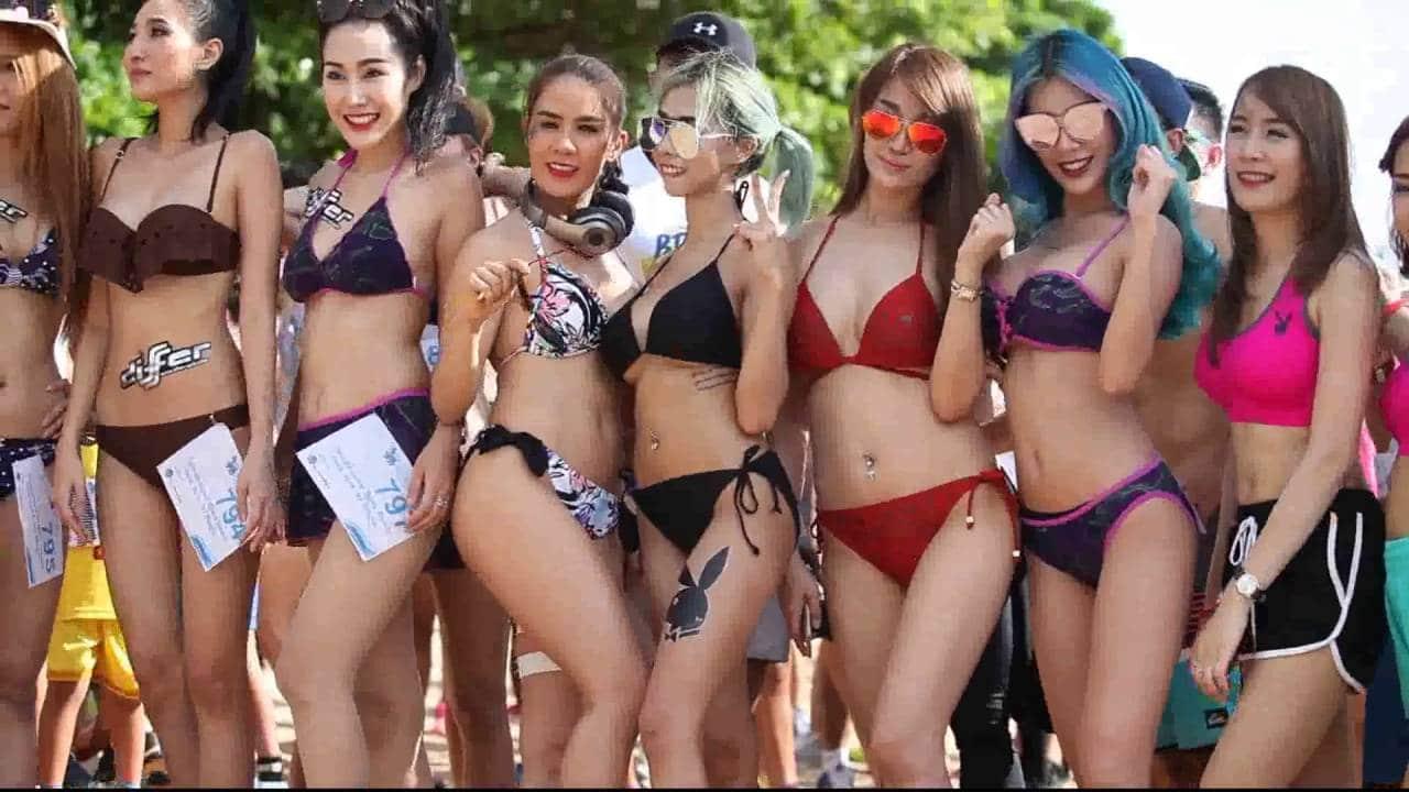 Pattaya Beach - Bikini Beach Run 2020