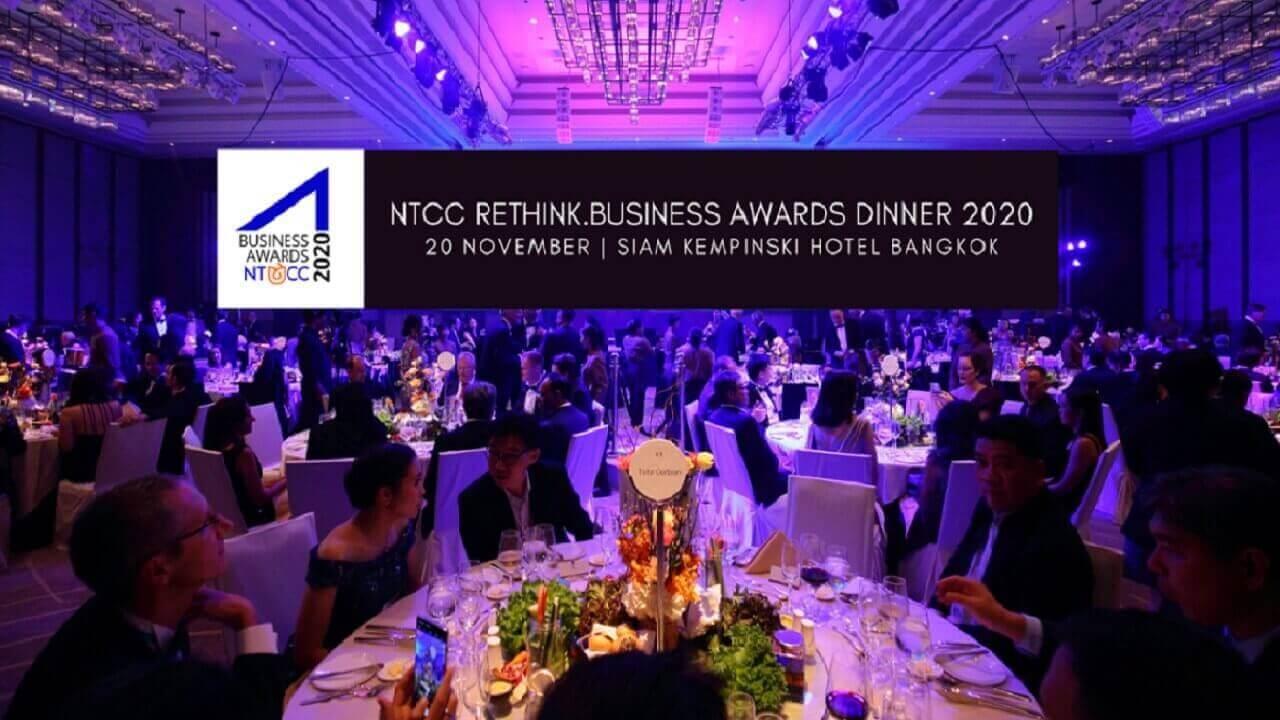 Bangkok Business Awards - NTCC RETHINK Business 2020