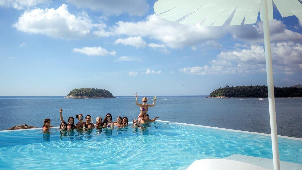 Kata Rocks Phuket - Brunch Pool Party