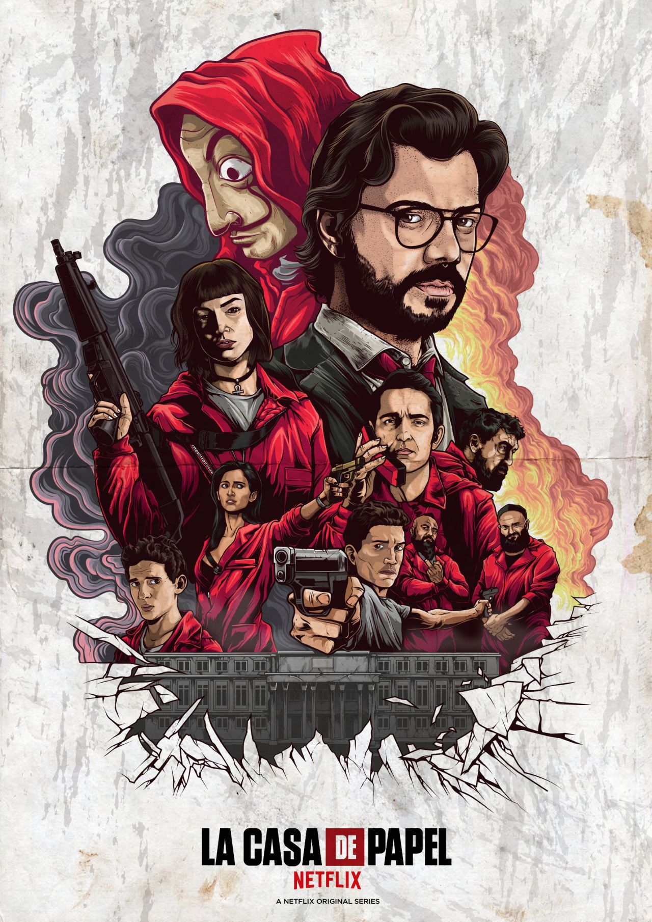 Money Heist coming to Netflix. Thailand Event Guide